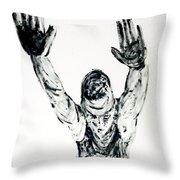 Roman Flying Throw Pillow