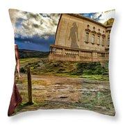 Roman Goddess Throw Pillow