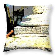 Roman Memories Throw Pillow