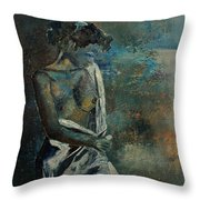 Roman Nude 45 Throw Pillow