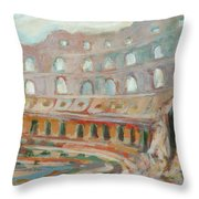 Roman Relicts 15 Throw Pillow