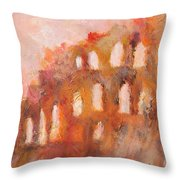Roman Relicts 3 Throw Pillow