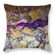Roman Rocks Throw Pillow