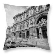 Roman Rush  Throw Pillow