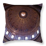 Roman Skylight Throw Pillow