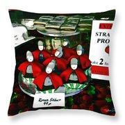 Roman Solders Throw Pillow