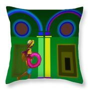 Roman Spring Throw Pillow