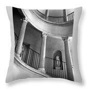Roman Staircase Throw Pillow