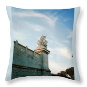 Roman Statue Throw Pillow