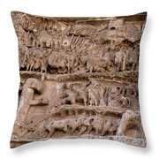 Roman Wall Throw Pillow