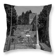 Roman Way Throw Pillow