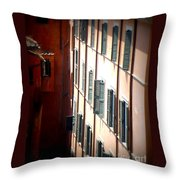 Roman Windows Throw Pillow