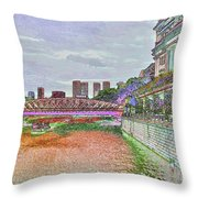 Romance At The Cavenagh Throw Pillow