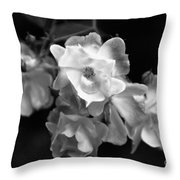 Romance Bw Throw Pillow