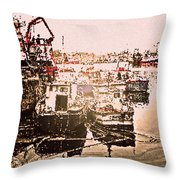Romance In Howth Throw Pillow