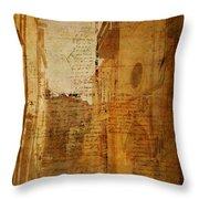 Romance In Stone Throw Pillow