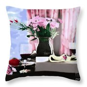 Romance In The Afternoon 2 Throw Pillow