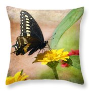 Romanced Throw Pillow