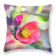 Romancing Spring I Throw Pillow