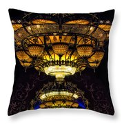 Romanov's Chandelier Throw Pillow