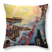 Romans 11 Throw Pillow