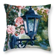 Romantic Fragrance Throw Pillow