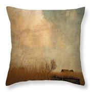 Romantic House Throw Pillow