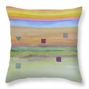Romantic Landscape  Throw Pillow