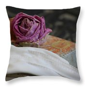 Romantic Memories Throw Pillow
