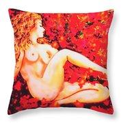 Romantic Moment Throw Pillow