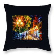 Romantic Night Throw Pillow