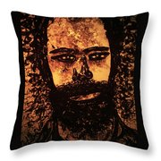 Romantic Poet Throw Pillow