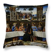 Rome 18 Throw Pillow