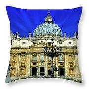 Rome 33 Throw Pillow