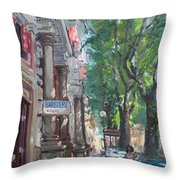 Rome A Small Talk By Barbiere Mario Throw Pillow