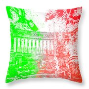 Rome - Altar Of The Fatherland Colorsplash Throw Pillow