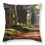 Rome, Appian Way - 05 Throw Pillow