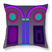 Rome At Night Throw Pillow