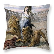 Rome: Christian Martyrs Throw Pillow