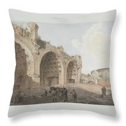 Rome Landscape Throw Pillow