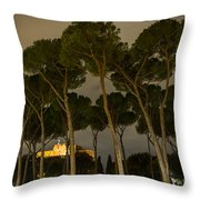 Rome - On The Road Throw Pillow
