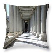 Rome Pillars Throw Pillow