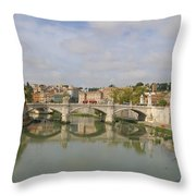 Rome Reflections Throw Pillow