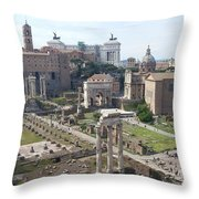 Rome The Old New World Throw Pillow