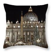Rome Vatican Throw Pillow