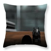 Romeo And Juliet Throw Pillow by James Barnes