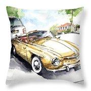 Rometsch-volkswagen Sports Throw Pillow