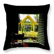 Romney Manor Throw Pillow