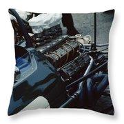 Ron Dennis Throw Pillow