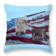 Ronald Reagan 1 Throw Pillow